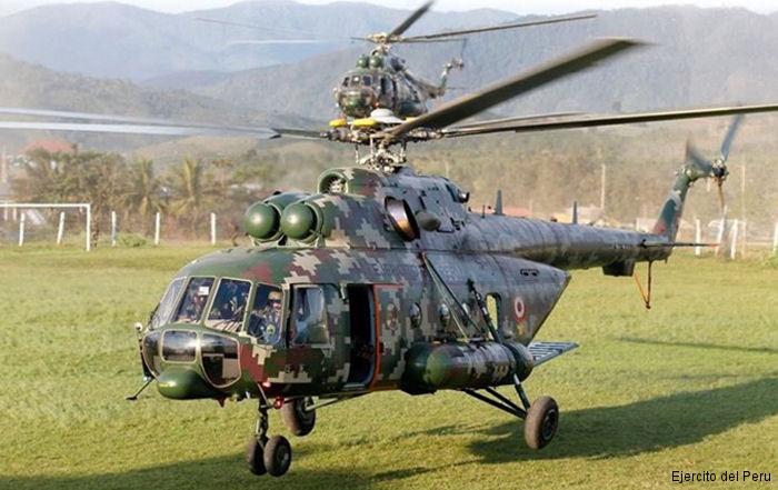 Mil Mi-8 do Peru