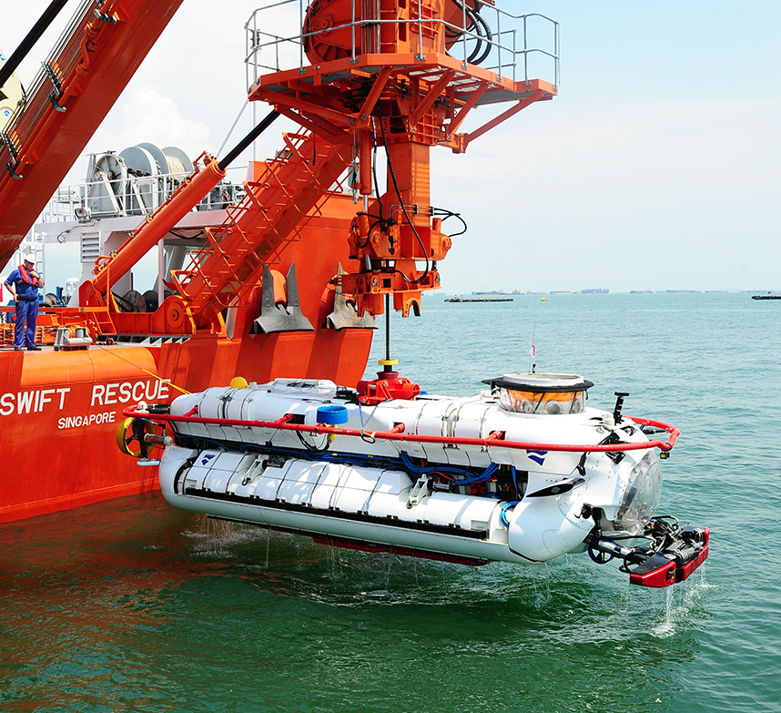 DSAR submarine rescue vehicle