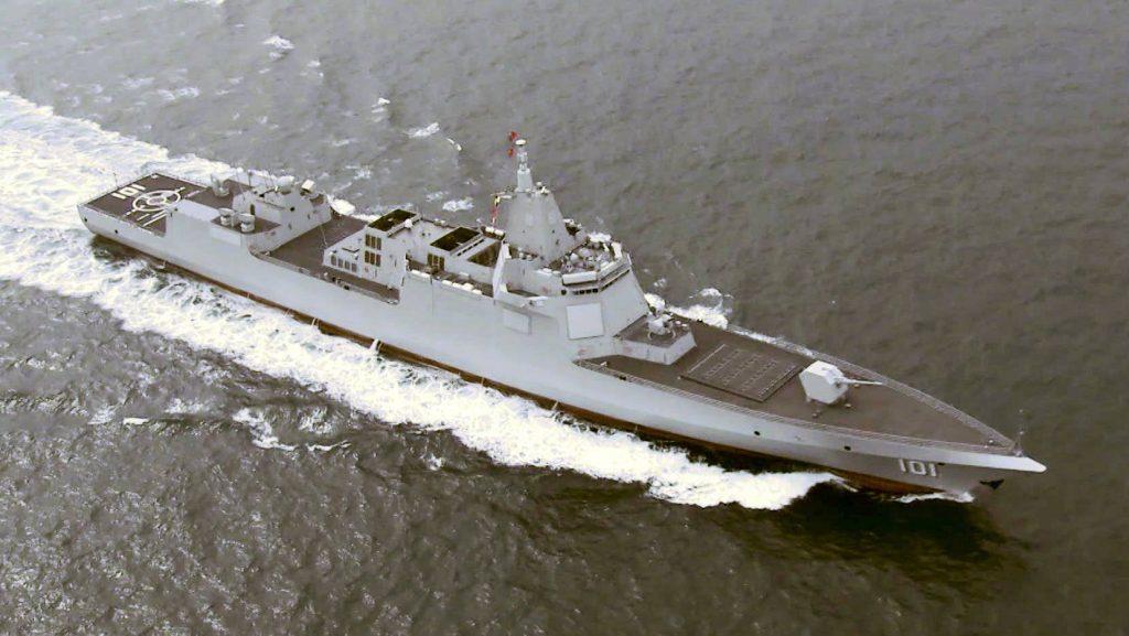 Destróier Type 055