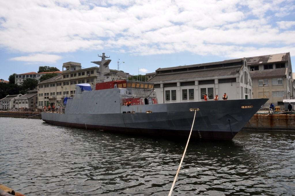 Resultado de imagem para AMRJ concluirá a construção dos navios-patrulha Maracanã e Mangaratiba