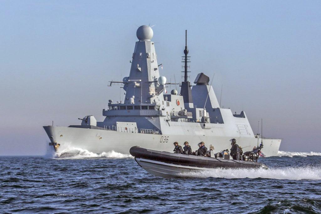 Destróier HMS Defender - D36