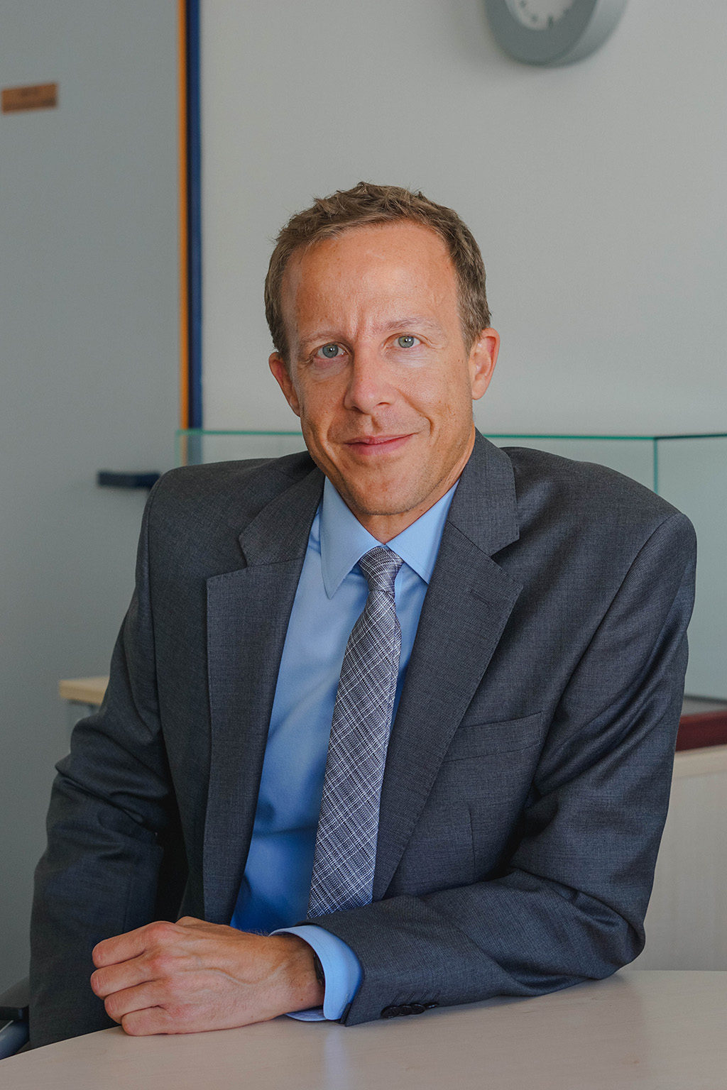 Stefan Jock, vice-presidente de vendas de Radar-IFF e Link de Dados da Hensoldt