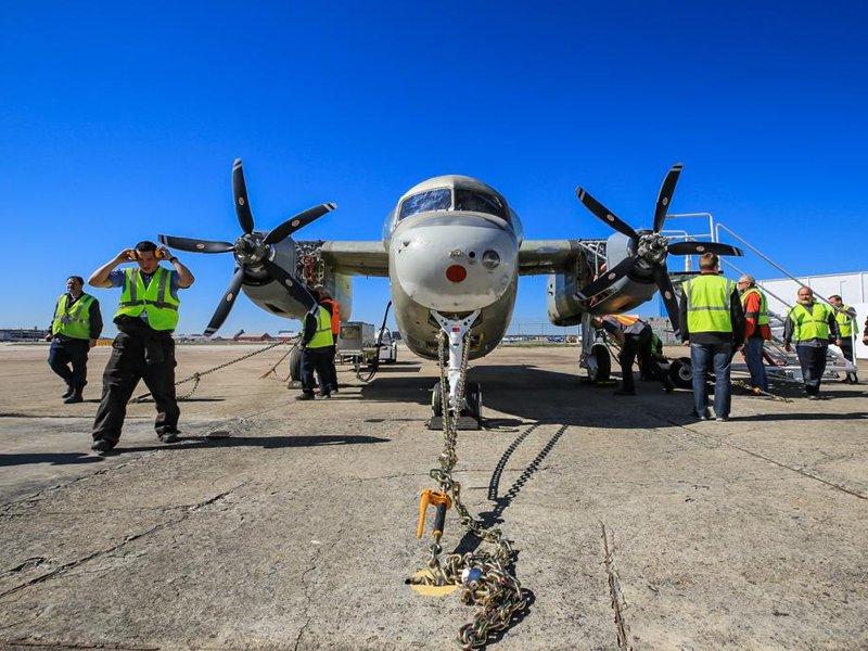 KC-2 Turbo Trader da MB realizando primeiro teste de motor