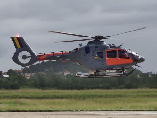 Chegada da segunda aeronave UH-17 N-7091 no 1º Esquadrão de Helicópteros de Emprego Geral