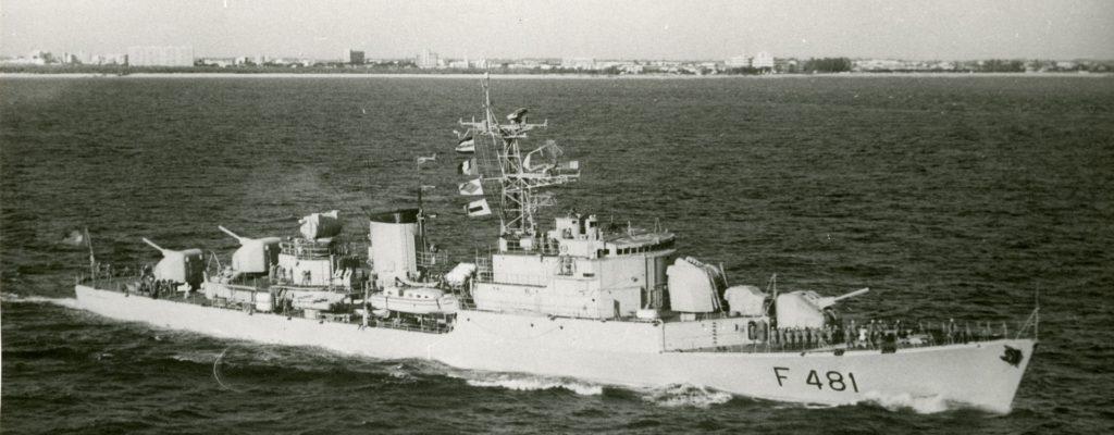 Fragata Comandante Hermenegildo Capelo - F481