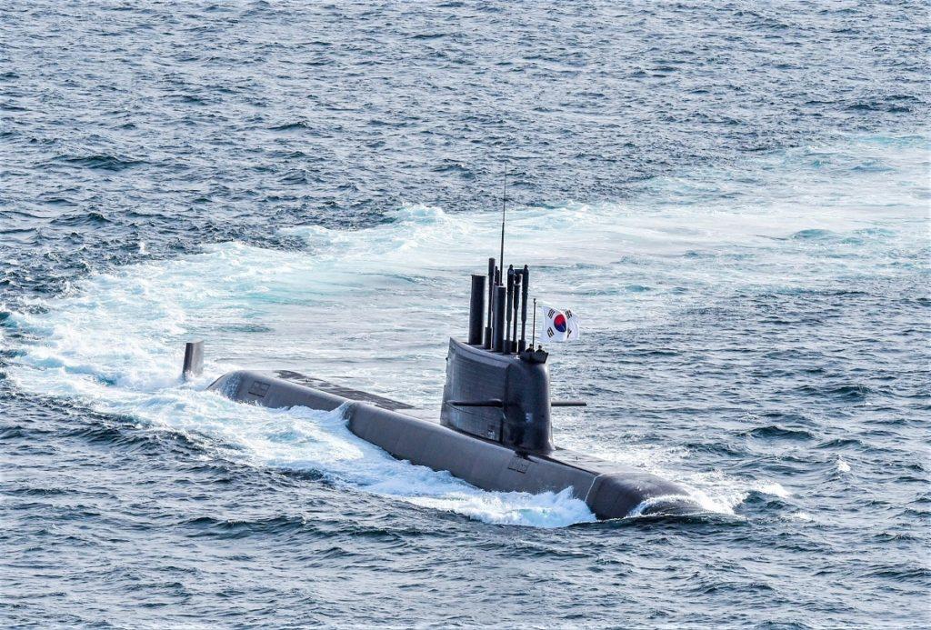 Submarino KSS-III sul-coreano