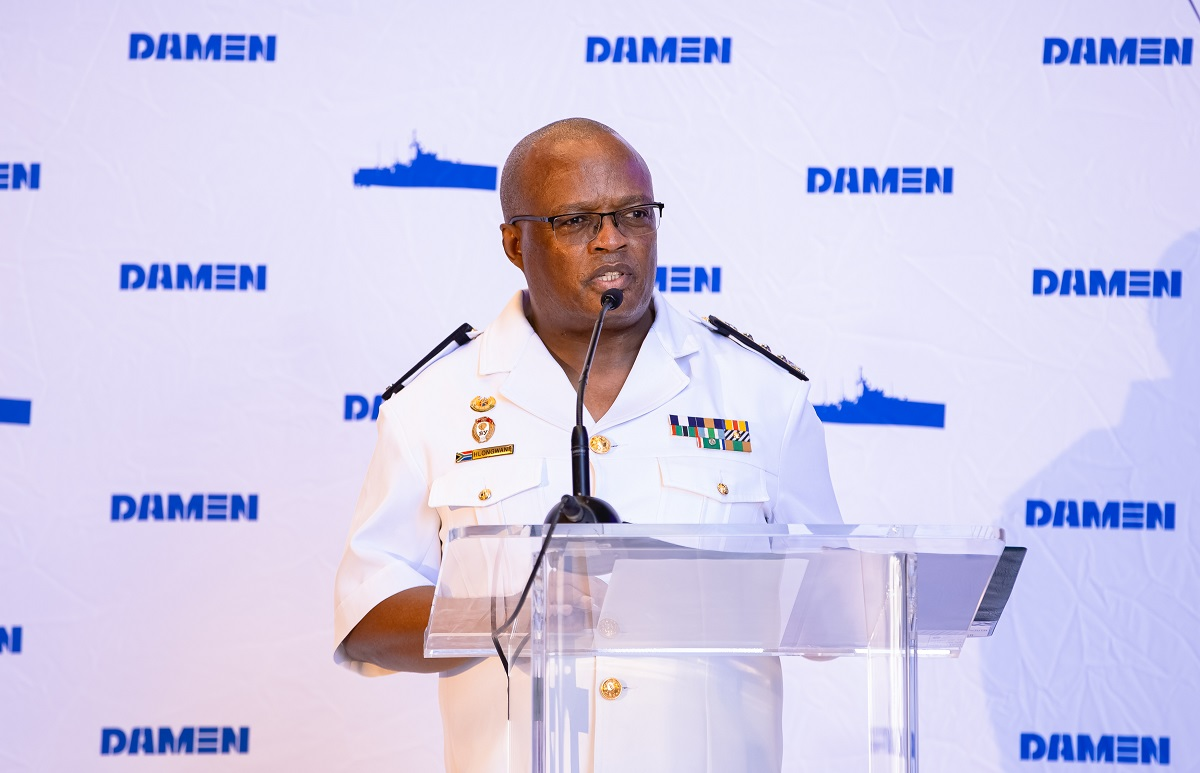 Discurso do Chefe da Marinha da África do Sul, Vice-Almirante Mosiwa Hlongwane