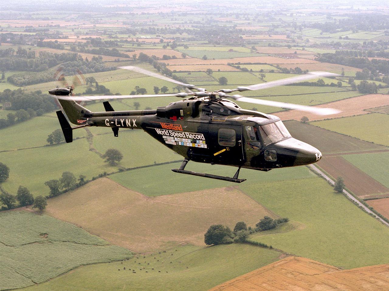 G-Lynx detentor do recorde de velocidade para helicópteros